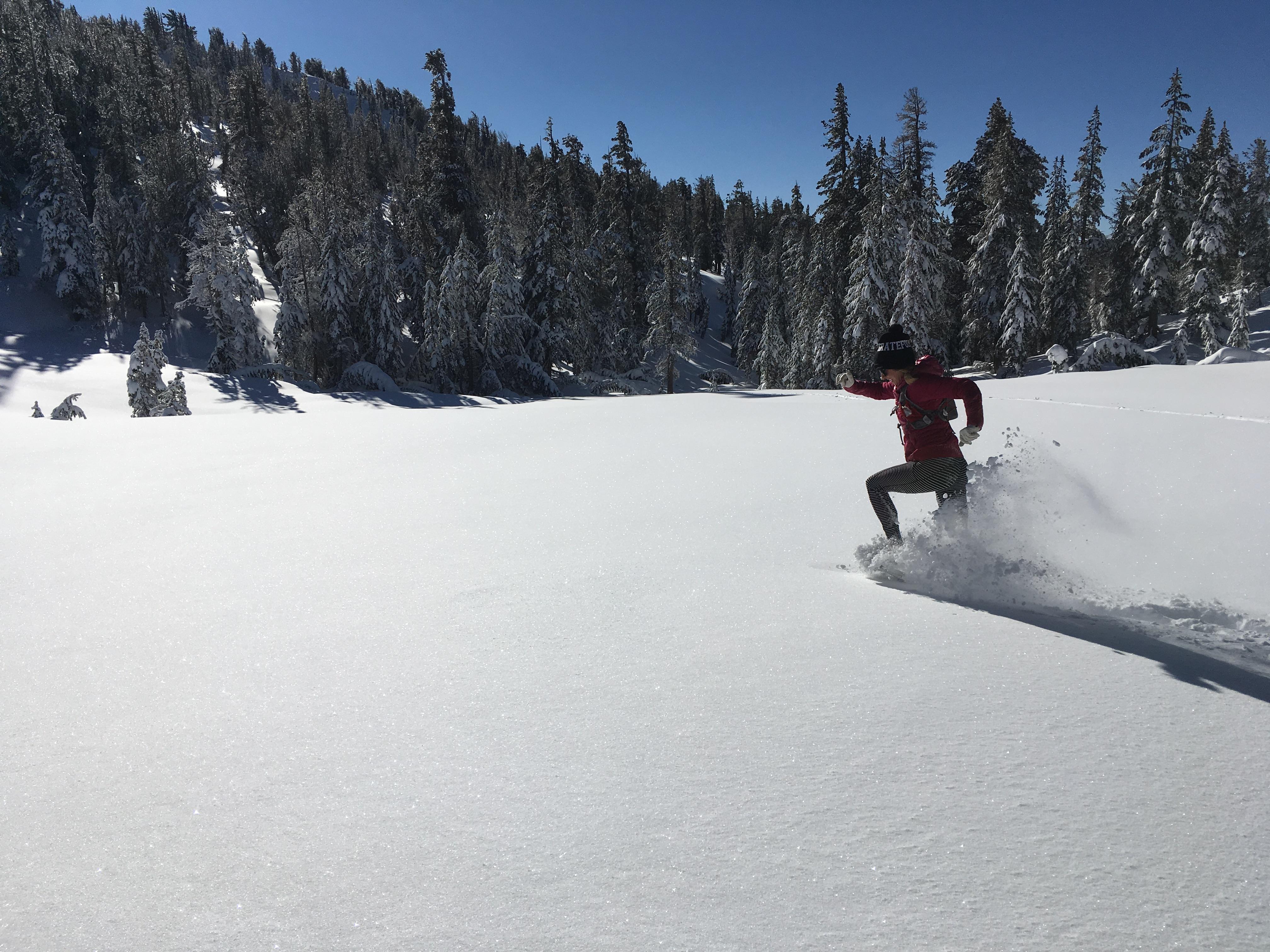Jennifer Benna Tahoe Meadows_Snowshoe